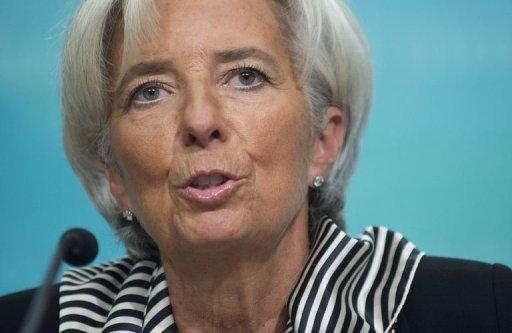 Lagarde warns more global recovery work needed