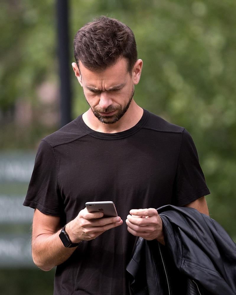 Jack Dorsey, chief executive officer of Twitter