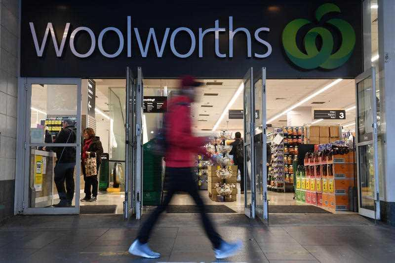 A Woolworths store in Sydney is pictured.