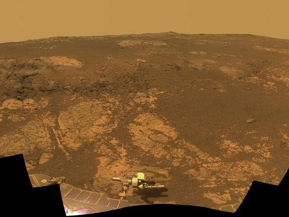 NASA's Opportunity Rover Begins Year 10 on Mars