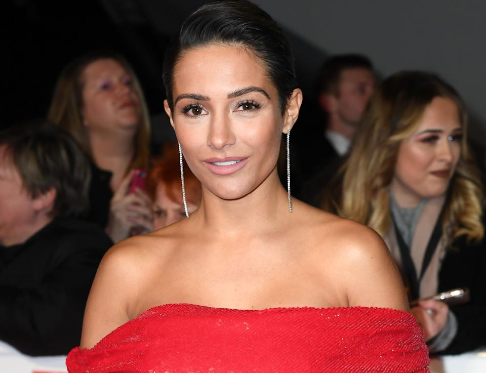Frankie Bridge said she had been suffering from 'mum guilt' due to a busy work schedule.