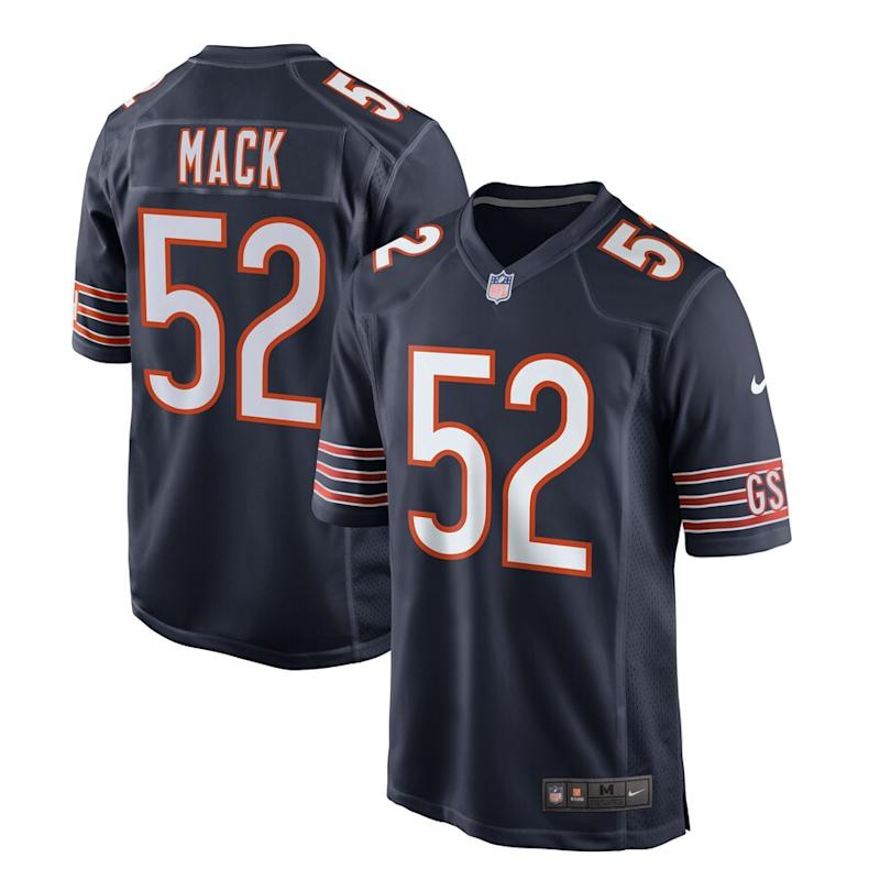 Khalil Mack Chicago Bears Nike Game Jersey – Navy