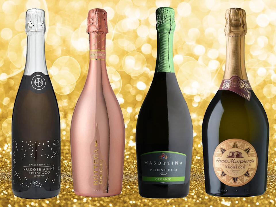 To be sure you're picking up the crème de la crème of the prosecco world, look for DOCG on the label (iStock/ The Independent)