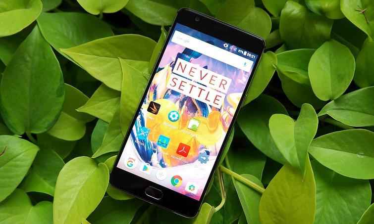 The OnePlus 5 should offer less bezel and a bigger screen than the 3T. Credit: Sam Rutherford/Tom's Guide