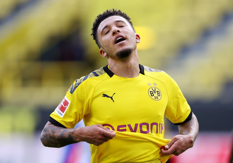 Dortmund's Sancho off to pre-season camp amid transfer speculation