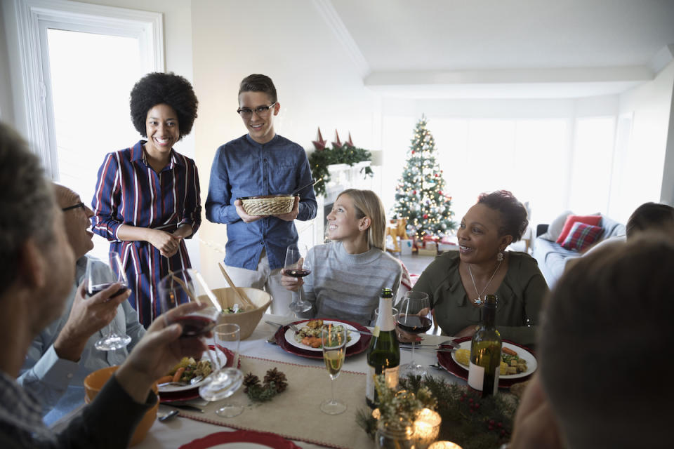 Diverse families share how they celebrate the holidays. (Photo: Getty Images)
