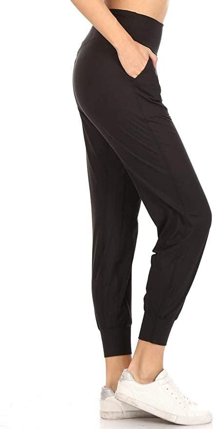 <p>These <span>Leggings Depot Women's Printed Solid Activewear Jogger Track Cuff Sweatpants</span> ($19) are a must have for timeless work-from-home loungewear.</p>
