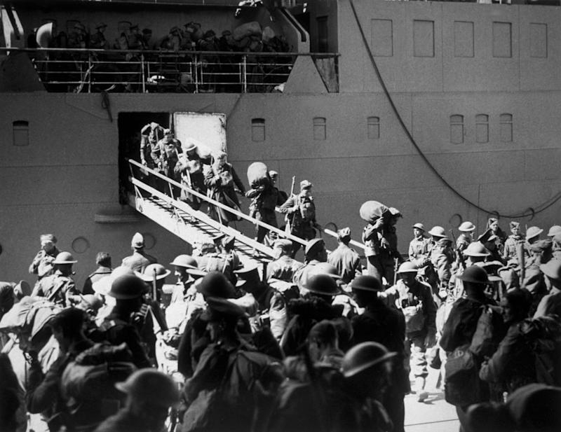 By June 4, when the Germans finally swept into Dunkirk, almost 400,000 men had been rescued - Credit: GETTY
