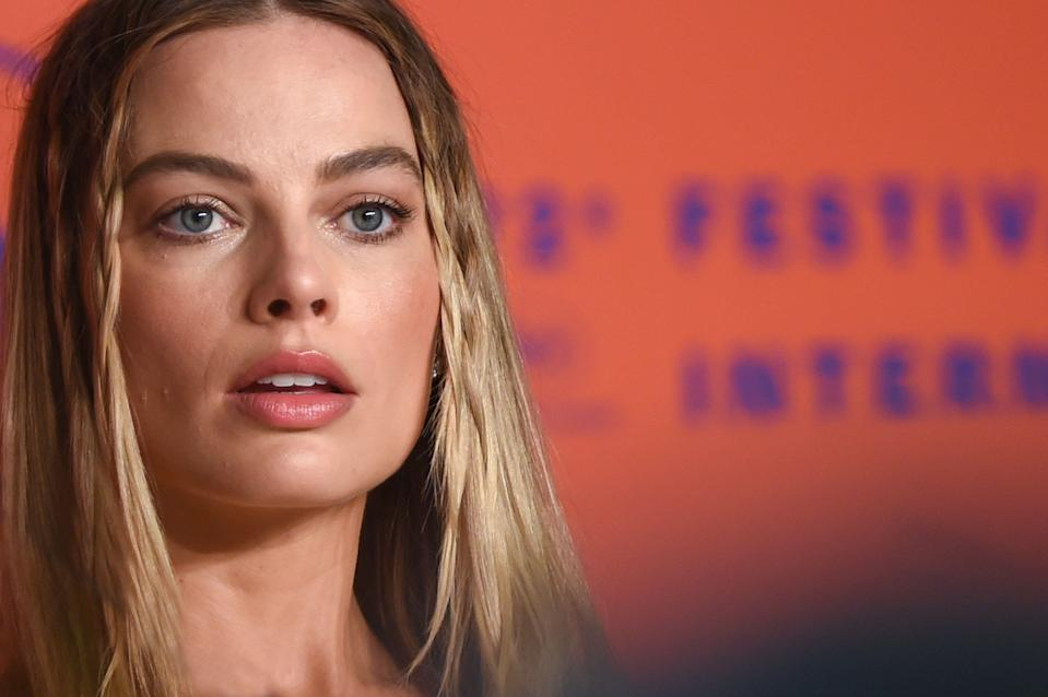 "CANNES, FRANCE - MAY 22: Margot Robbie attends the ""Once Upon A Time In Hollywood"" Press Conference during the 72nd annual Cannes Film Festival on May 22, 2019 in Cannes, France. (Photo by Stephane Cardinale - Corbis/Corbis via Getty Images)"