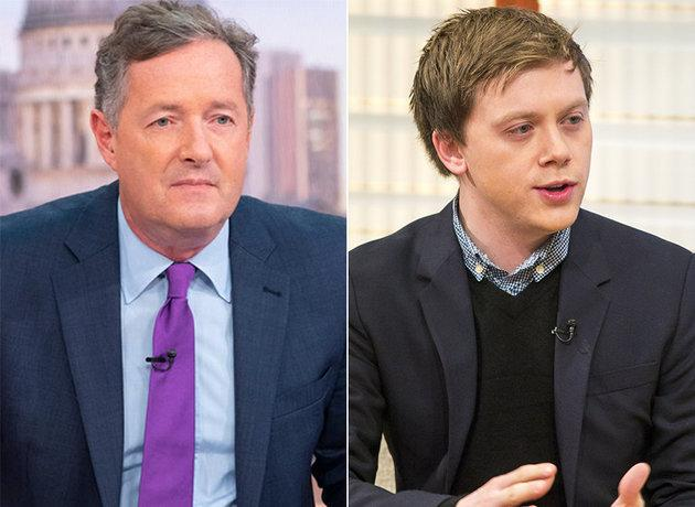 Piers Morgan and Owen Jones