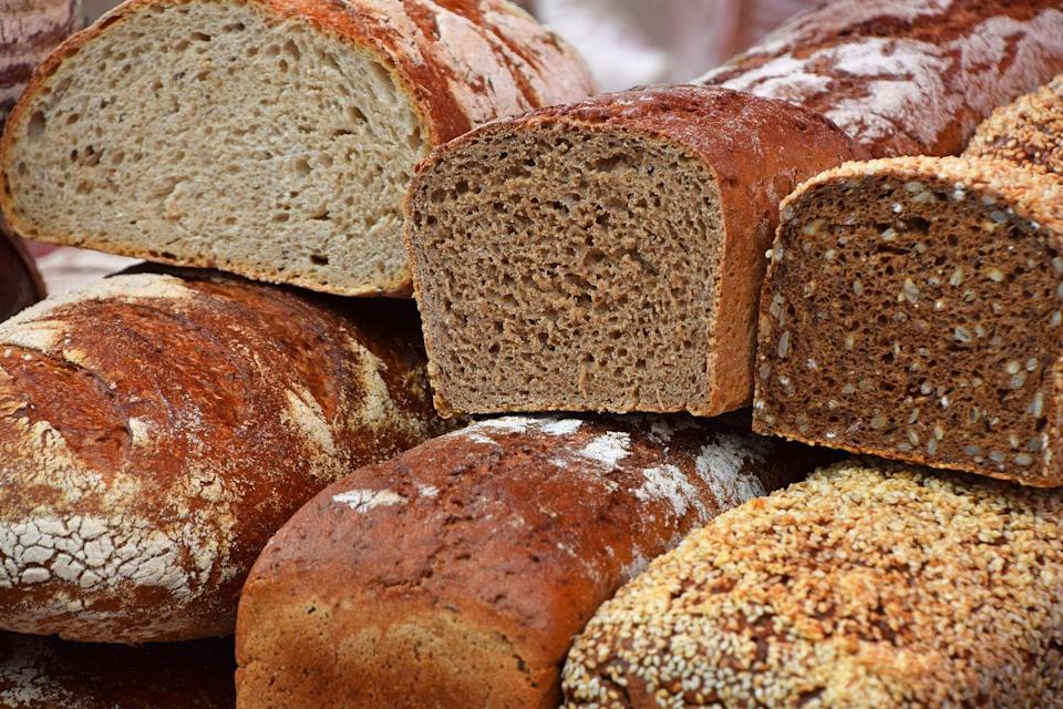 <p>If you don't have actual, packaged bread crumbs in your house...you can make them yourself. I know, I know! Revolutionary! Toast a few slices, then blend them up until you've got crumbs.</p>