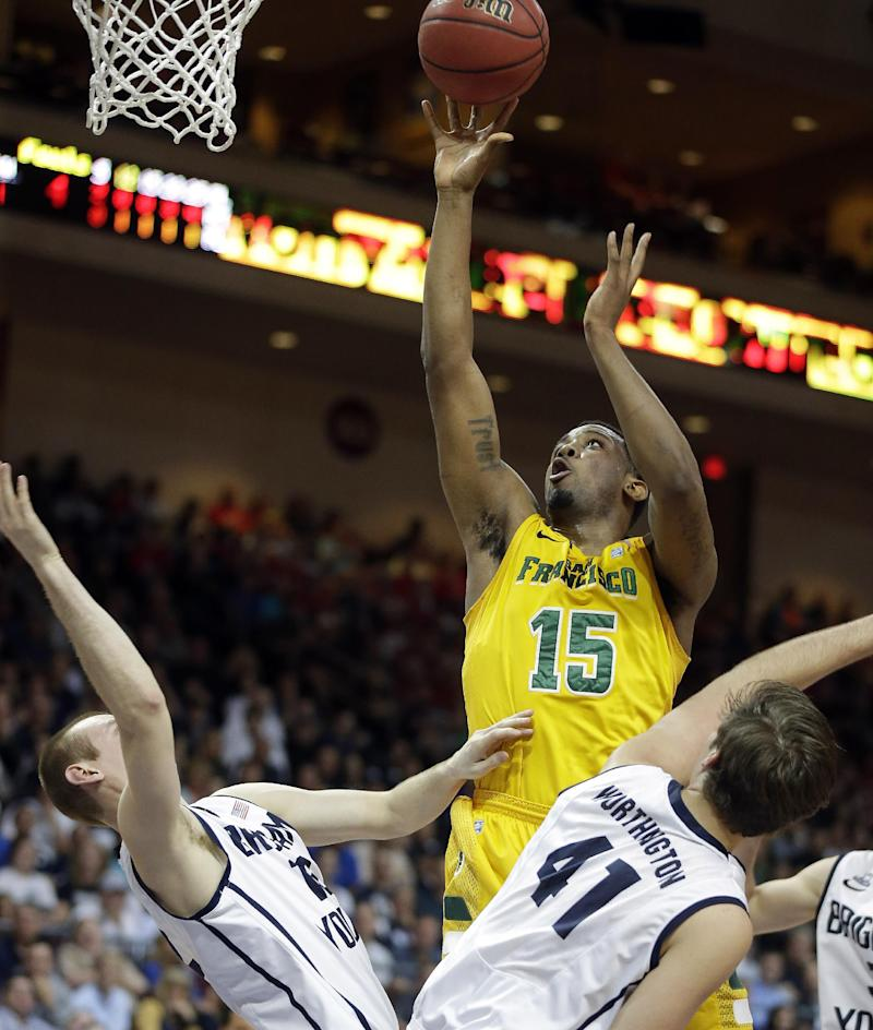 Cougars outlast Dons 79-77 in WCC semifinals