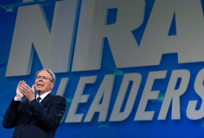 """<span class=""""element-image__caption"""">Wayne LaPierre, executive vice-president of the NRA.</span> <span class=""""element-image__credit"""">Photograph: Saul Loeb/AFP/Getty Images</span>"""