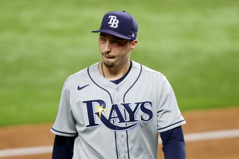 Must win: Pitcher Blake Snell will start for the Tampa Bay Rays as they try to fend off elimination in game six of baseball's 2020 World Series against the Los Angeles Dodgers