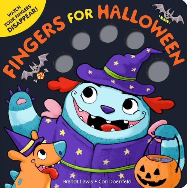 "<p> <a href=""https://www.popsugar.com/buy/Fingers-Halloween-497291?p_name=Fingers%20for%20Halloween&retailer=barnesandnoble.com&pid=497291&price=8&evar1=moms%3Aus&evar9=46708408&evar98=https%3A%2F%2Fwww.popsugar.com%2Fphoto-gallery%2F46708408%2Fimage%2F46708409%2FFor-Ages-0-to-2-Fingers-for-Halloween&list1=books%2Challoween%2Challoween%20for%20kids&prop13=api&pdata=1"" rel=""nofollow"" data-shoppable-link=""1"" target=""_blank"" class=""ga-track"" data-ga-category=""Related"" data-ga-label=""https://www.barnesandnoble.com/w/fingers-for-halloween-brandt-lewis/1125101310?ean=9780316378000"" data-ga-action=""In-Line Links"">Fingers for Halloween</a> ($8) is a rhyming tale that has a hungry monster gobbling up your little one's wiggling fingers!</p>"
