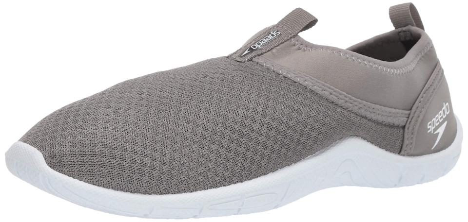"<br><br><strong>Speedo</strong> Women's Water Shoe Tidal Cruiser, $, available at <a href=""https://amzn.to/30WMO5p"" rel=""nofollow noopener"" target=""_blank"" data-ylk=""slk:Amazon"" class=""link rapid-noclick-resp"">Amazon</a>"