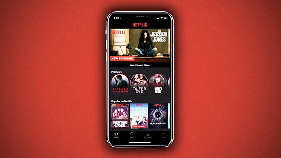 Netflix mobile will automatically download recommended content for offline viewing