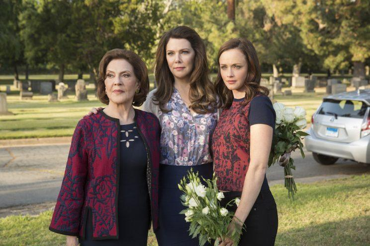 Kelly Bishop, Lauren Graham, and Alexis Bledel in 'Gilmore Girls: A Year in the Life'