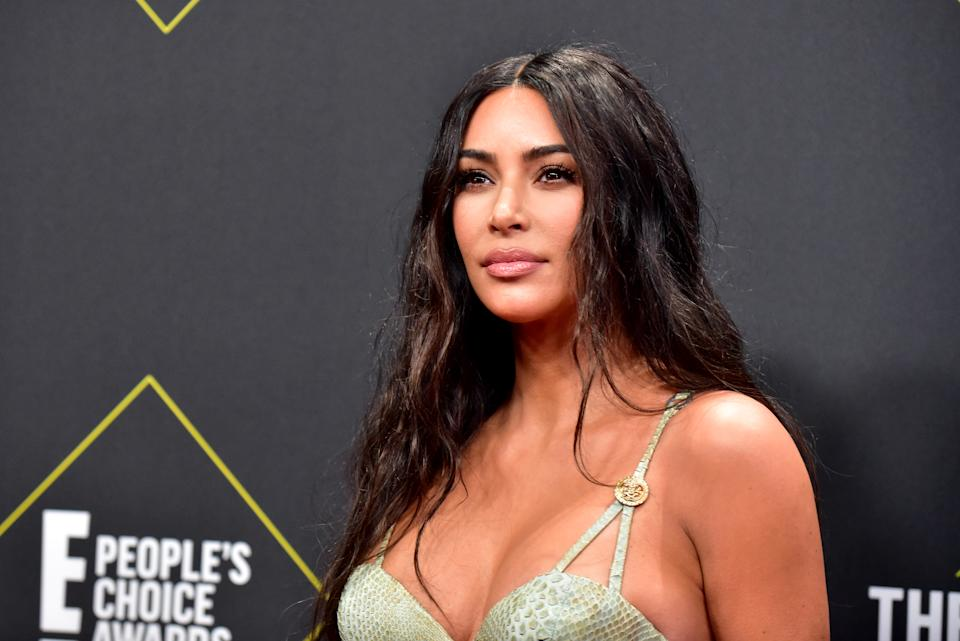 Kim Kardashian loves eating a plant-based diet. (Photo by Rodin Eckenroth/WireImage)
