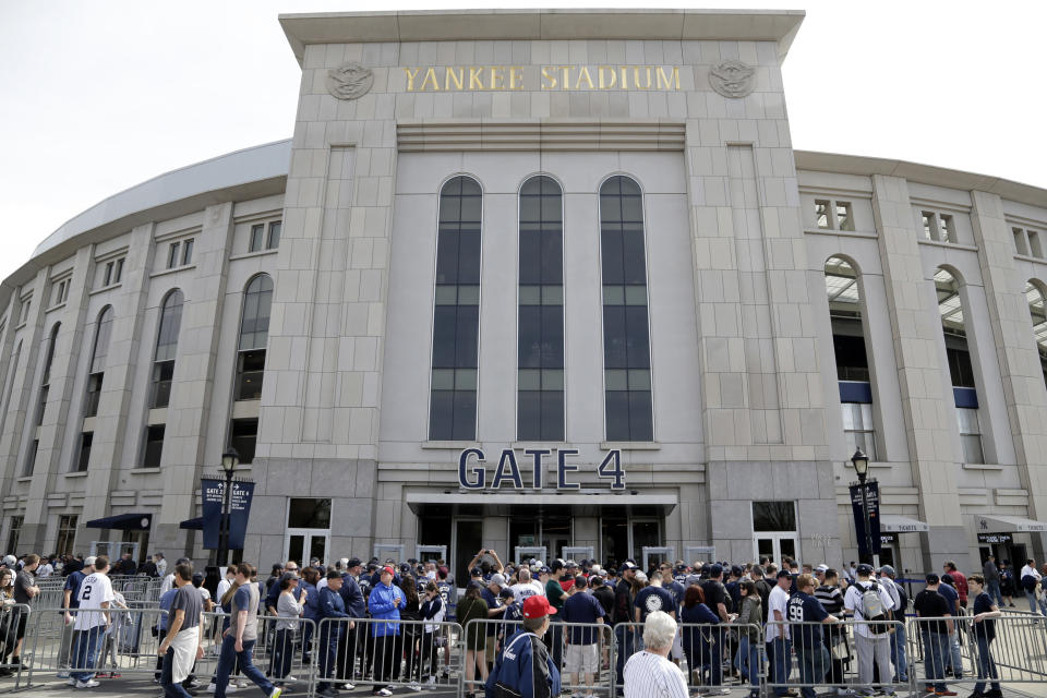 The New York Yankees are on pace to avoid MLB's luxury tax this season, the first time since it was implemented in 2003. (AP Photo/Seth Wenig)