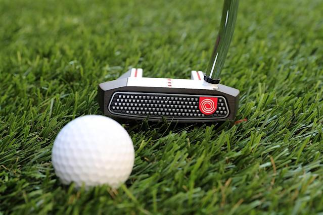 "<p>Even pros are constantly tinkering and often changing putters, so every few years the average guy has to start blaming his putter and looking for something better. Odyssey is always there with a few great options. This putter has a bunch of features that add up to balance and stability. And the oversize grip helps keep the hands from getting twitchy. <a href=""http://www.odysseygolf.com/families/o-works/putters-2017-o-works-tank-7-ss.html"" rel=""nofollow noopener"" target=""_blank"" data-ylk=""slk:$229"" class=""link rapid-noclick-resp"">$229</a> (Gordon Donovan/Yahoo News) </p>"