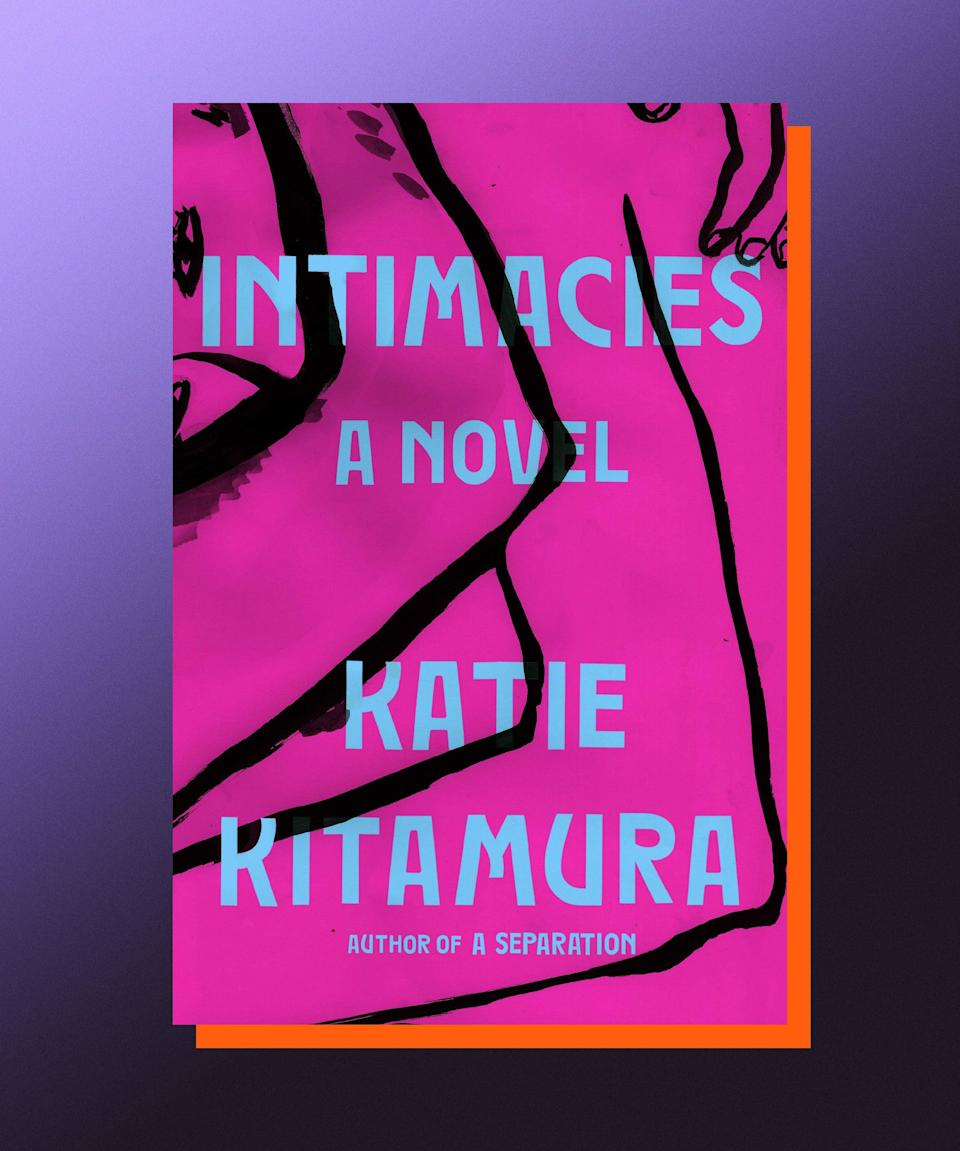 """<strong><em>Intimacies</em>, Katie Kitamura (</strong><a href=""""https://bookshop.org/books/intimacies-9780399576164/9780399576164"""" rel=""""nofollow noopener"""" target=""""_blank"""" data-ylk=""""slk:available July 20"""" class=""""link rapid-noclick-resp""""><strong>available July 20</strong></a><strong>)</strong><br><br>Though it has all the ingredients for a story of global intrigue — it's set in The Hague, at the International Court, and centers around an interpreter who's asked to translate for a former president accused of war crimes — what Katie Kitamura's new novel, <em>Intimacies</em>, really does is offer intrigue of a more, well, intimate sort. This is the kind of book that quickens the pulse not because of logic-defying plot twists, but rather because of how surgically precise it is in revealing how our emotional realities take on epic dimensions in our own minds, and often threaten our stability in the precise ways that things of global import rarely do. So while, yes, there is a tumultuous affair and a random act of violence, <em>Intimacies </em>is less viscerally disturbing than it is psychologically disconcerting — like all the very best thrillers, anyway."""
