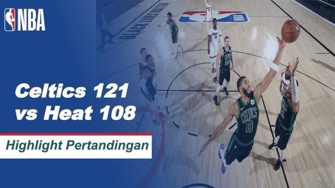 VIDEO: Boston Celtics Paksa Miami Heat Jalani Gim Keenam di Final Wilayah Timur Playoff NBA