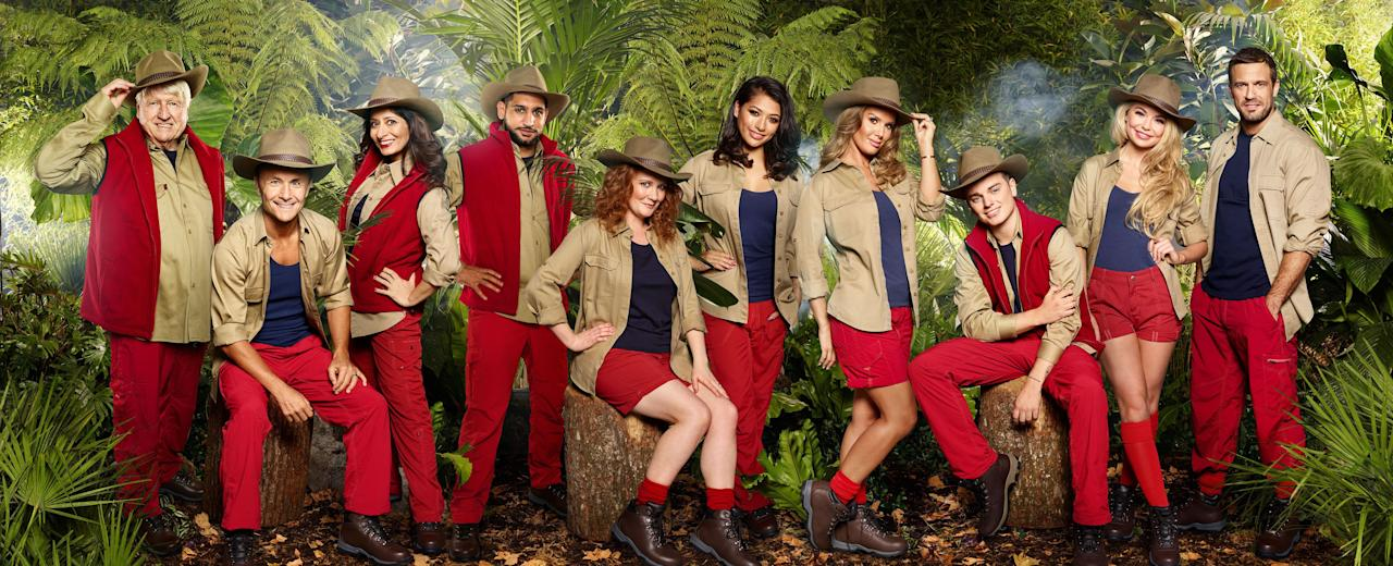 <p>The I'm A Celebrity… Get Me Out Of Here! stars of 2017 have been picture in their official jungle wear for the first time.<br /> Copyright [ITV/REX/Shutterstock] </p>