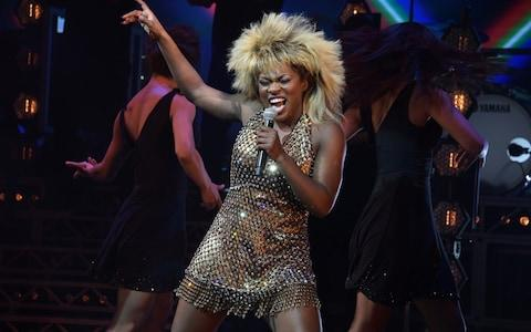 "Nkeki Obi-Melekwe performs during the 1st birthday gala performance of ""Tina: The Tina Turner Musical"" - Credit: Getty Images"