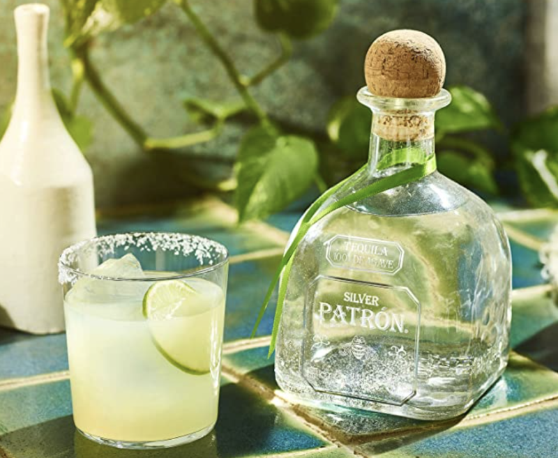 Tequila Blanco Patrón. Foto: amazon.com.mx