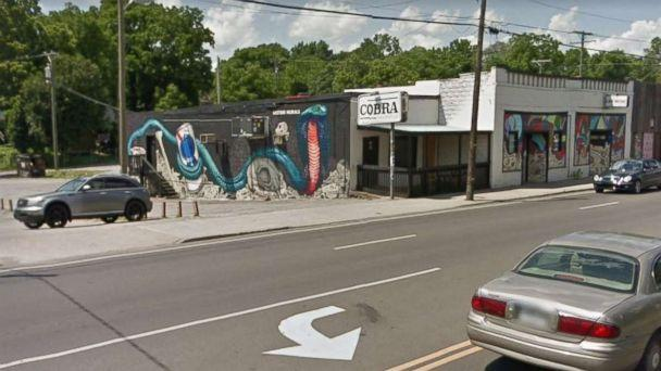 Bartley Teal was shot and killed outside The Cobra, a bar in east Nashville, Tennessee, on Friday, Aug. 17, 2018. His friend, Jaime Sarrantonio, was also killed. (Google Maps)