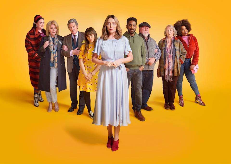 <p>Keeley Hawes stars in Finding Alice, about a woman grieving the sudden loss of her husband</p> (ITV)