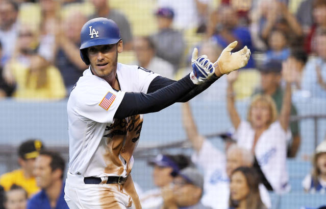 The Dodgers have been among the worst teams in baseball at batting average with runners in scoring position. (AP)