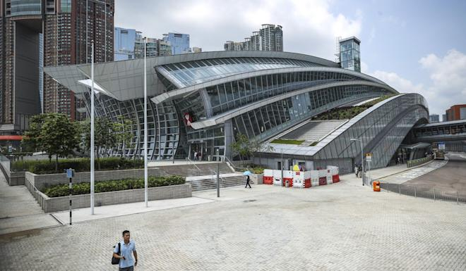 The West Kowloon high-speed rail link terminus. There has been a decrease in mainland tourists in recent months because of anti-government protests. Photo: Winson Wong