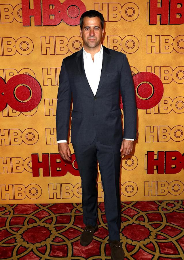 <p><em>Ballers</em> actor Troy Garity at HBO's Post Emmy Awards Reception at the Plaza at the Pacific Design Center. (Photo by Frederick M. Brown/Getty Images) </p>