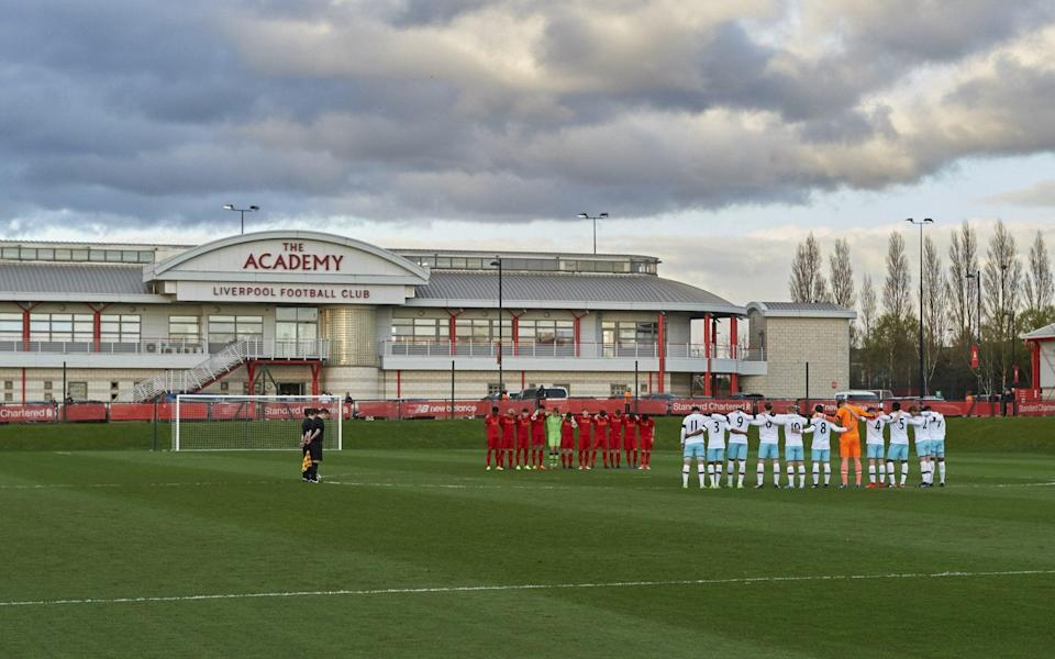 Liverpool's academy training ground at Kirkby -Liverpool sell naming rights to new £50m training ground to insurance firm Axa - GETTY IMAGES