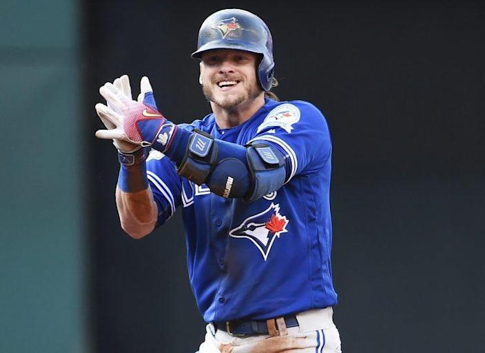Josh Donaldson's decision to not run out a home run during a minor league spring training game was not actually his decision. (AP)