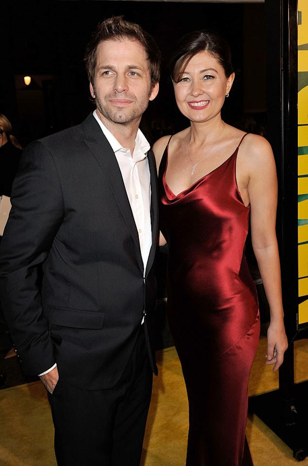"<a href=""http://movies.yahoo.com/movie/contributor/1808536947"">Zack Snyder</a> and wife at the Los Angeles premiere of <a href=""http://movies.yahoo.com/movie/1808406490/info"">Watchmen</a> - 03/02/2009"