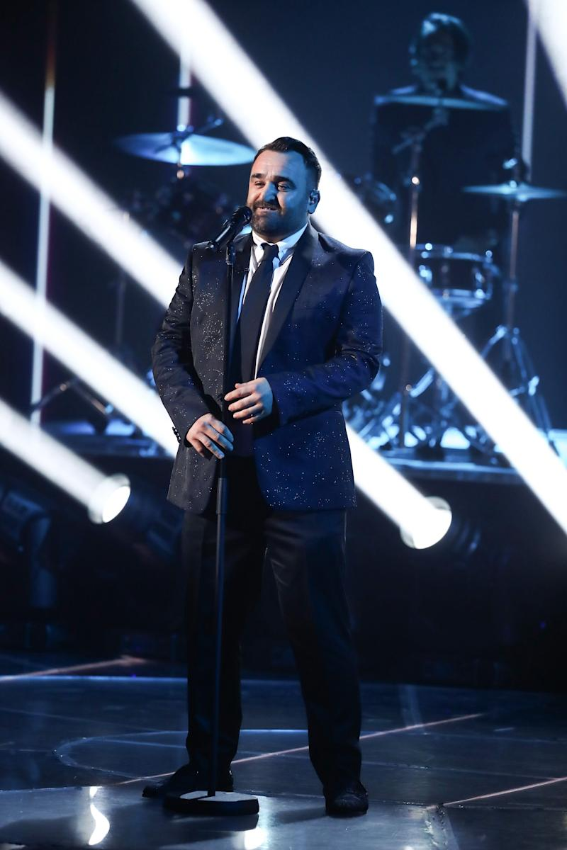 Tetley appeared on The X Factor in 2018 (Photo: Dymond/Thames/Syco/Shutterstock)