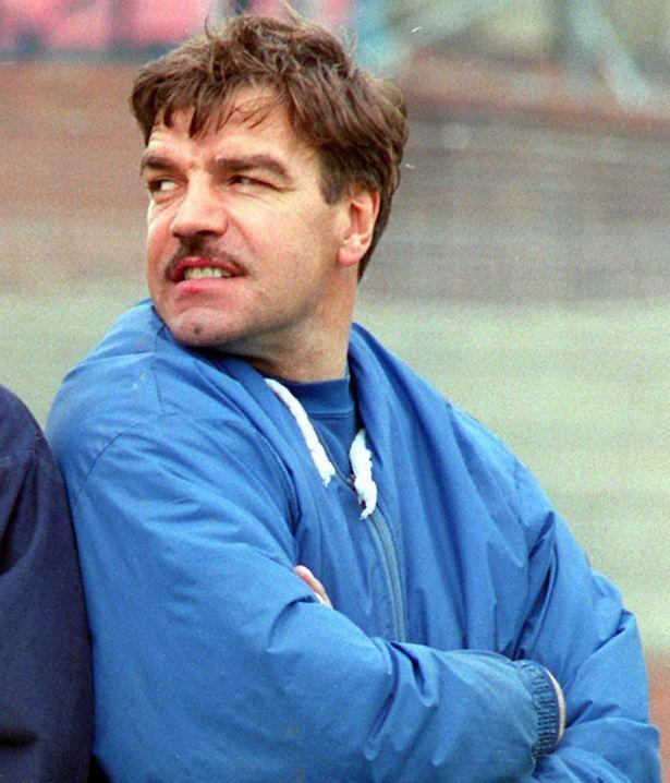 <p>After briefs spells in charge of Limerick and Preston, Sam Allardyce was Blackpool manager from 1994-96 </p>