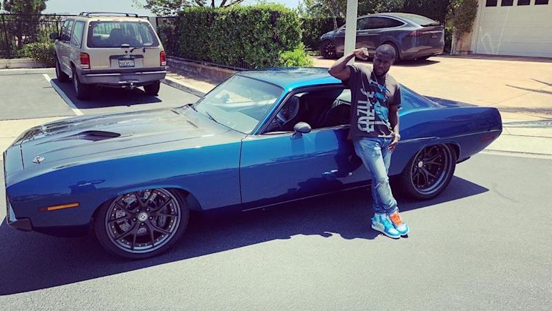 Kevin Hart's Muscle Car Involved in Serious Accident, Actor's Condition  Unknown