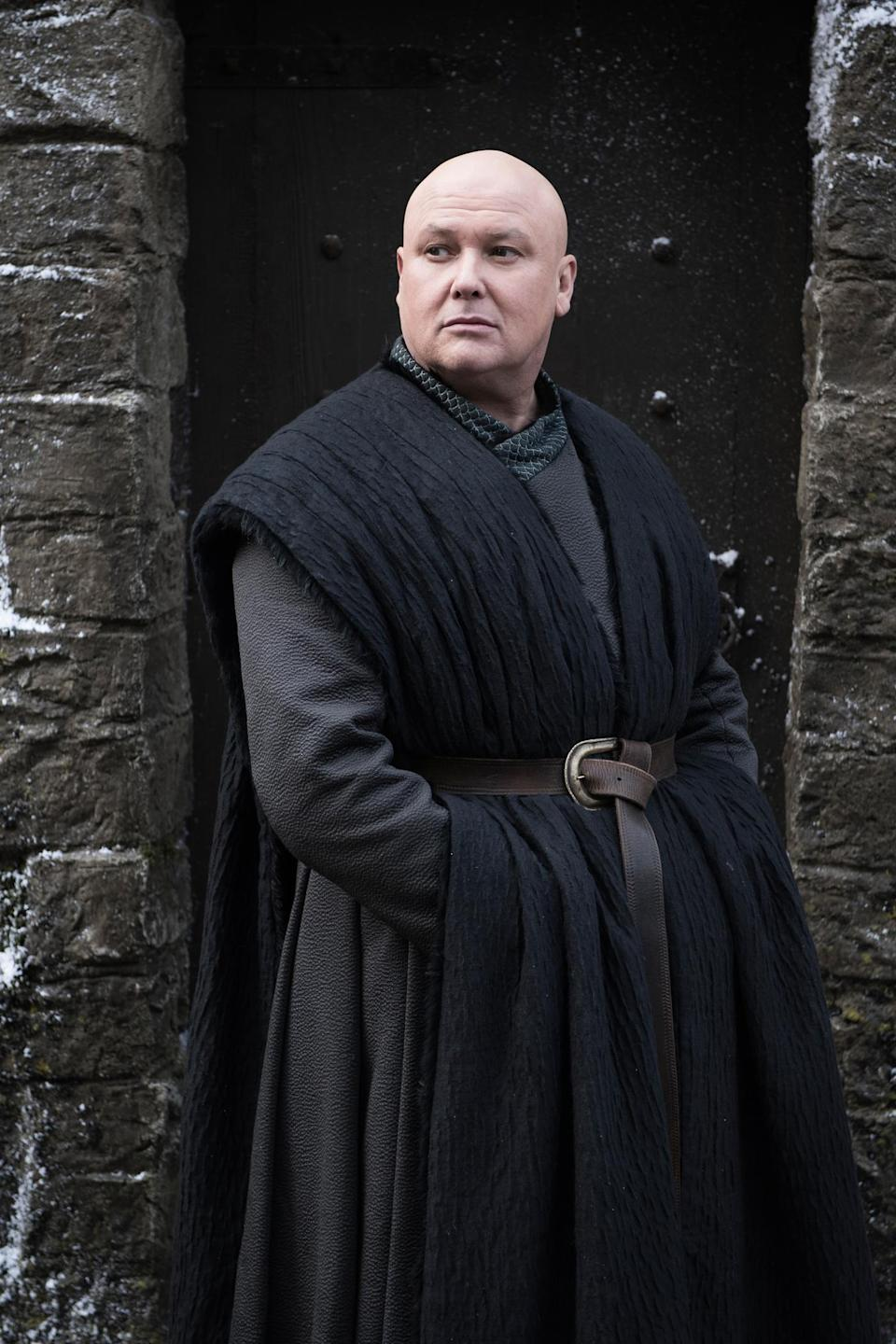 <p>Oh, what a tangled web the Spider continues to weave in Westeros! Varys is currently in league with Daenerys, but he's undoubtedly got other tricks up his voluminous sleeves. </p>