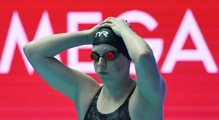 American Lilly King won the women's 100m breaststroke final at the 2019 World Championships in Gwangju, South Korea