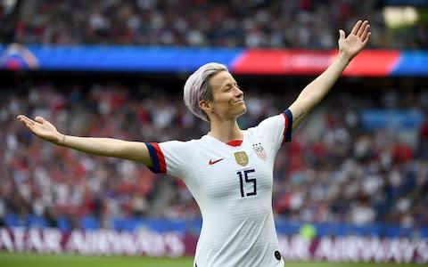 <span>Megan Rapinoe is expected to win the women's Ballon d'Or</span> <span>Credit: AFP </span>