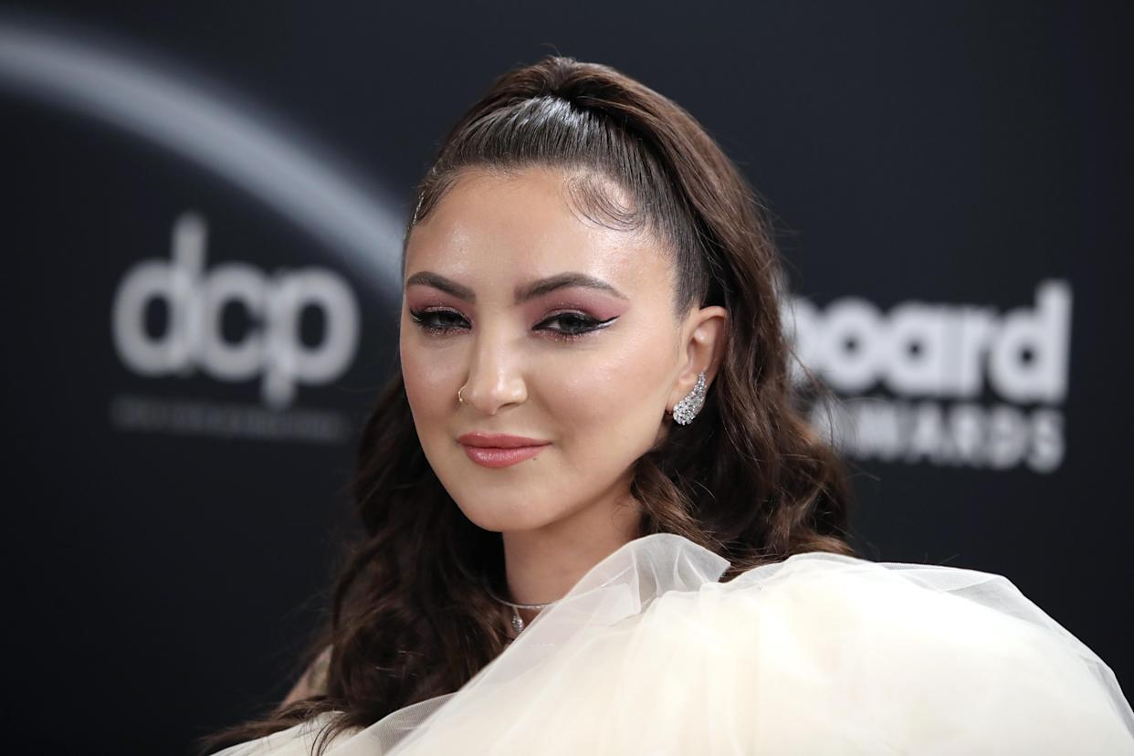 Julia Michaels, pictured in 2020. (Photo: Todd Williamson/NBC/NBCU Photo Bank via Getty Images)