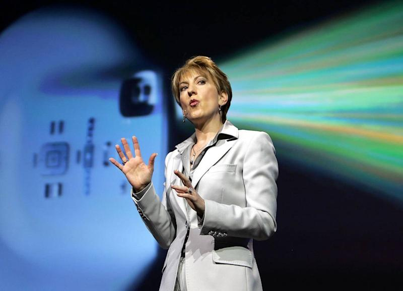 HP lost its way in the late 1990s and 2000s under bosses like Carly Fiorina, who later ran against Donald Trump for the US Republican Party nomination (Reuters)