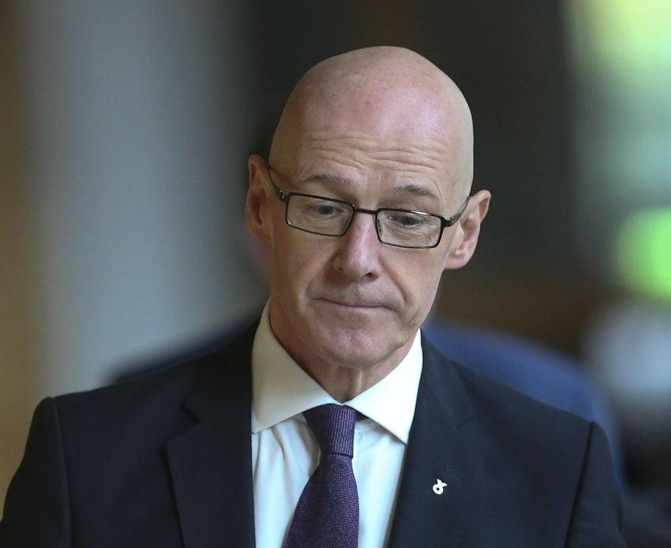 Scottish Deputy First Minister John Swinney will warn the UK is facing another 'winter of discontent' in the wake of Brexit (Fraser Bremner/Scottish Daily Mail/PA)