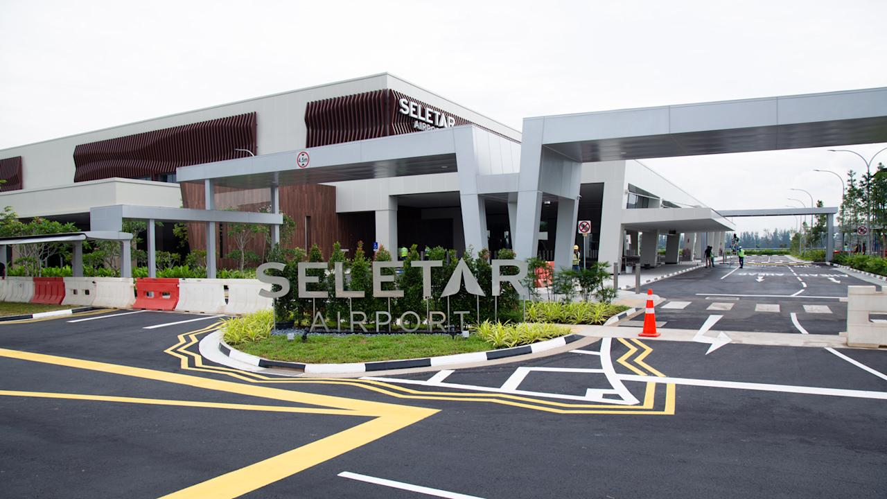 <p>The entrance to Seletar Airport. (PHOTO: Yahoo News Singapore / Dhany Osman) </p>