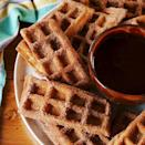 """<p>If you're short on time, you could skip the batter-making steps and just use a boxed mix. But let it be known that this recipe guarantees fluffy-on-the-inside, crispy-on-the-outside waffles. It's the best. </p><p>Get the C<a href=""""https://www.delish.com/uk/cooking/recipes/a29261112/best-churro-waffle-dippers-recipe/"""" rel=""""nofollow noopener"""" target=""""_blank"""" data-ylk=""""slk:hurro Waffle Dippers"""" class=""""link rapid-noclick-resp"""">hurro Waffle Dippers</a> recipe.</p>"""
