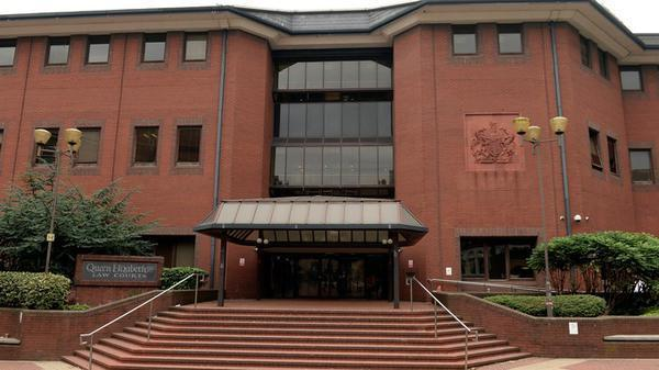 Birmingham Crown Court, pictured, heard that he sent the girl text messages saying his career would be tarnished if she told anyone (Tribunal Finder)